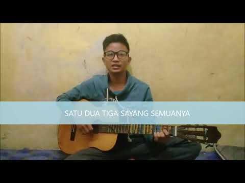 """Lagu Anak Dengan Iringan Gitar """"Satu-Satu Aku Sayang Ibu"""", Kuansing, Riau, Indonesia"""