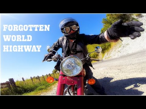 Forgotten World Highway NZ on A Royal Enfield Motorcycle