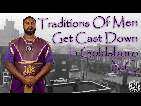 The Israelites: Breaking Ground Goldsboro, NC: Officer Reuel Casts Down The Traditions Of Men