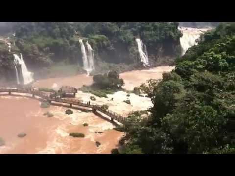 Igussu Falls March 2015, Brazil