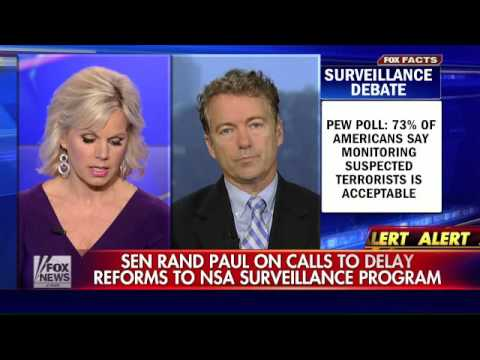 Paul on calls to delay reforms to NSA surveillance program