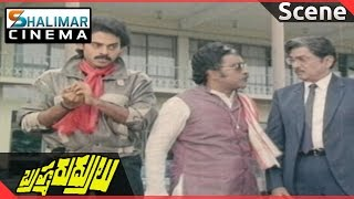 Brahma Rudrulu Movie || Venkatesh Warring To Paruchuri Gopala Krishna  Scene || Shalimarcinema