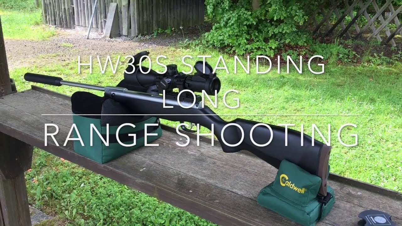 luftgewehr weihrauch hw30s long range shooting youtube. Black Bedroom Furniture Sets. Home Design Ideas