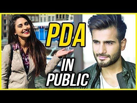 Karan Tacker And Krystle D'souza's PDA In Public