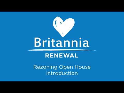 Britannia rezoning phase virtual open house 1 video