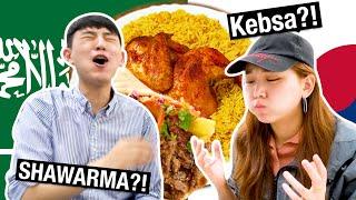 Our First Day in Saudi Arabia🇸🇦|| Korean Sibling Travel vlog