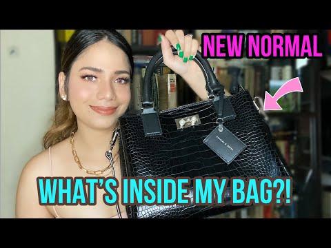 What's inside my bag? New Normal    Monica Sandra Ronda