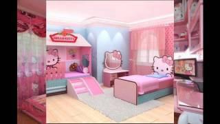 Hello kitty bedroom interior design and decor ideas