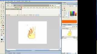 How to draw and animate fire in Flash