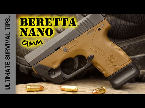 Beretta Nano Pocket Pistol - Review - Best Mini 9mm Handgun for Survival /  Bug Out / Self Defense?