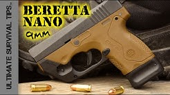 Beretta Nano Pocket Pistol - Review - Best Mini 9mm Handgun for Survival / Bug Out / Self Defense?