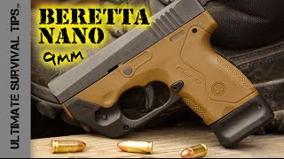 Beretta Nano Pocket Pistol - Review - Best Mini 9mm Handgun for Survival / Bug Out / Self Defense? thumbnail