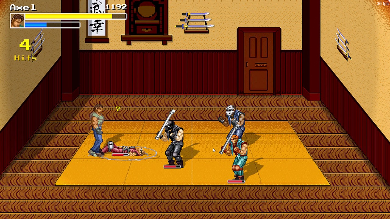 Streets of Chaos - Streets of Rage fan game made with Unity 3d - Part 8