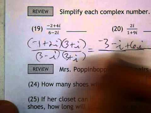 Algebra Ii Worksheet 23 2 Number 19 Simplifying Expressions With