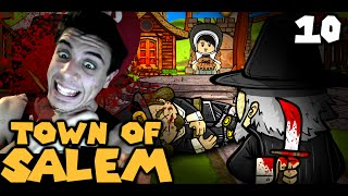 STOP KILLING ME! (The Derp Crew: Town of Salem - Part 10)