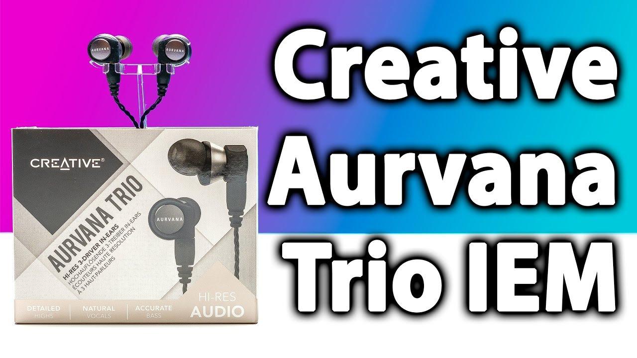 Review Creative Aurvana Trio IEM   Earbuds   Headphones  e82c702577e6