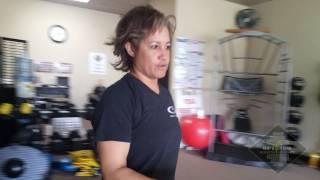 Strength Training At Work: Wall Pushups