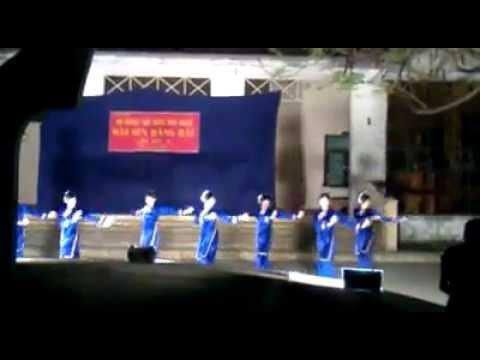 """múa Tày """"Mùa xuân non cao"""" -K35 CD SP Toán   SP2"""