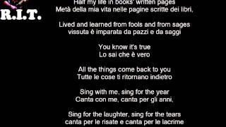 Dream On - Aerosmith con testo e traduzione