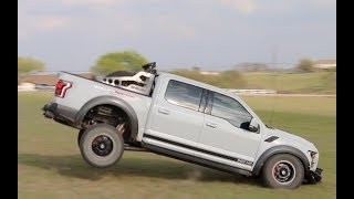 Off Roading In The Shelby Raptor Baja Edition Ford F-150