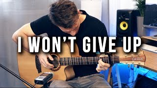 Gambar cover (Jason Mraz) I Won't Give Up - Piotr Szumlas - Fingerstyle Guitar Cover