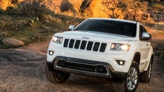 2014 Jeep Grand Cherokee First Drive Off-Road Review: Jeep week video # 4