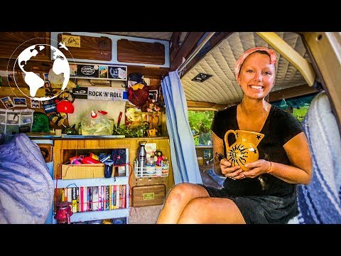 Solo Female Chooses to Connect with The Wild by Moving into a Van