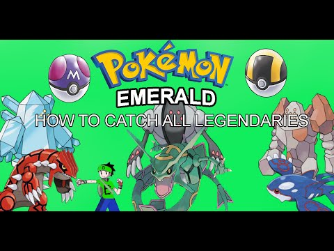 How to catch Kyogre, Groudon, Rayquaza, and the 3 Regis in Pokemon Emerald