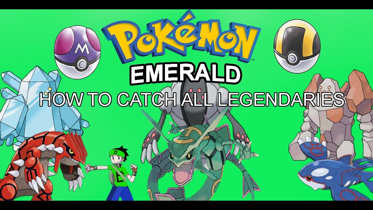 How to catch kyogre groudon rayquaza and the 3 regis in pokemon how to catch kyogre groudon rayquaza and the 3 regis in pokemon emerald youtube sciox Choice Image