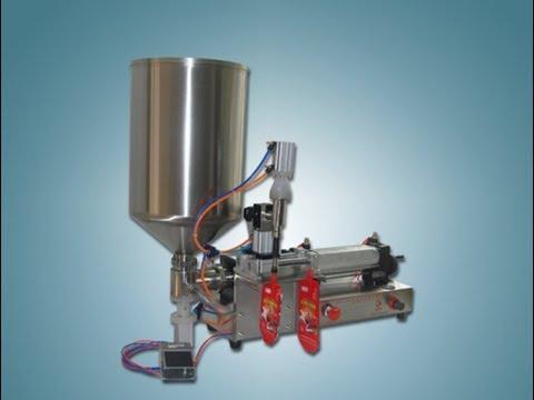 20-200ml juice yogurt liquid filling machine spout bags semi automatic filler equipment food packing