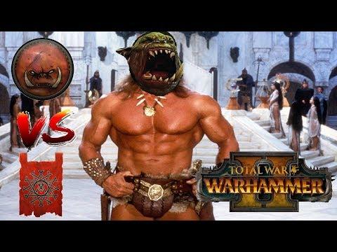 Skaven vs Greenskins | GRIMGOR, KING OF SPIDERS : Total War Warhammer 2