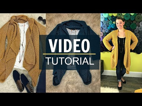 NEW Elizabeth Cardigan Video Tutorial