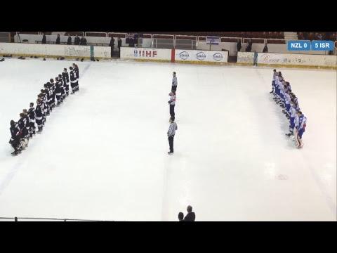 2018 IIHF ICE HOCKEY U20 WORLD CHAMPIONSHIP Division III: New Zealand - Israel