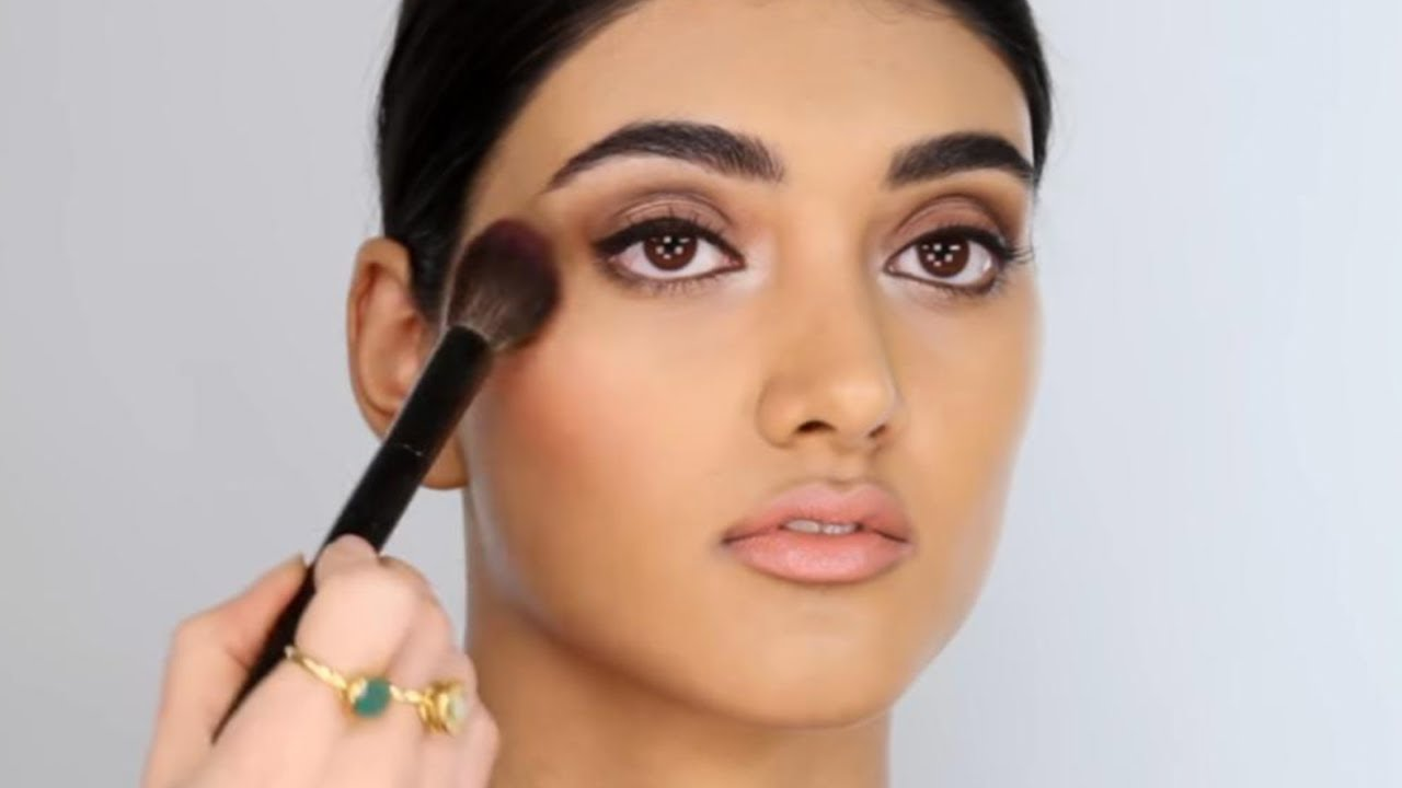 Pretty Glam Makeup Look Great For Events Photography Weddings Etc Youtube
