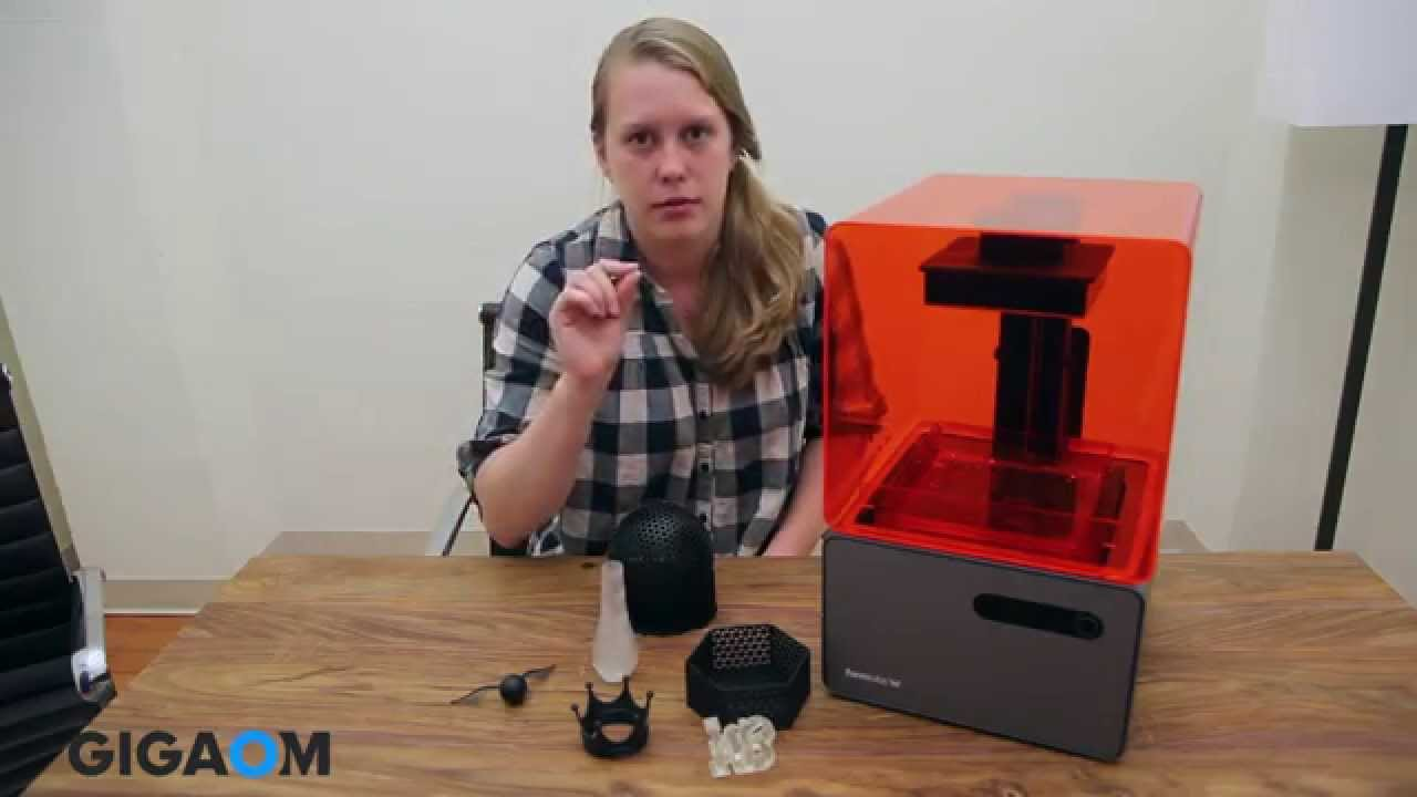 Formlabs Form 1+ 3D printer review - YouTube