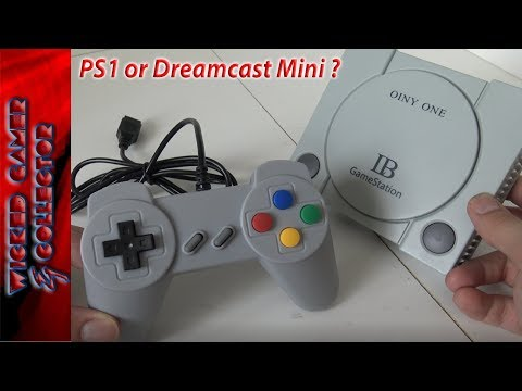 Playstation or Dreamcast Classic Mini Clone from China ??