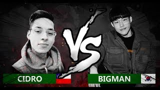 CIDRO 🇨🇱 VS BIGMAN 🇰🇷 | World Beatbox Classic | 1/8 Final