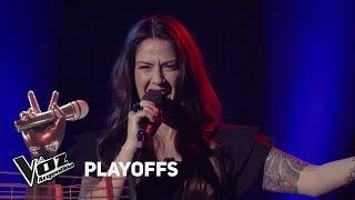 "Playoffs #TeamSole: Natalia canta ""Afiches"" de Goyeneche - L..."