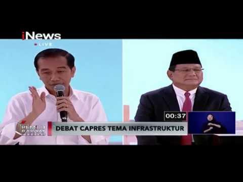 Prabowo Sebut Pembangunan Infrastruktur 'Grasak-grusuk', Ini Balasan Jokowi - Pemilu Rakyat 17/02