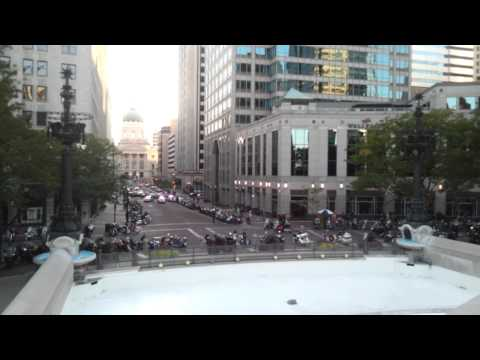 Indy BikeNight early + Monument CityCenter