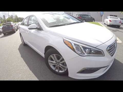 Walkaround Review of 2015 Hyundai Sonata 92095A
