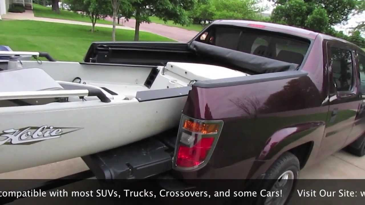How To Transport Large Kayaks Short Bed Truck Suv And