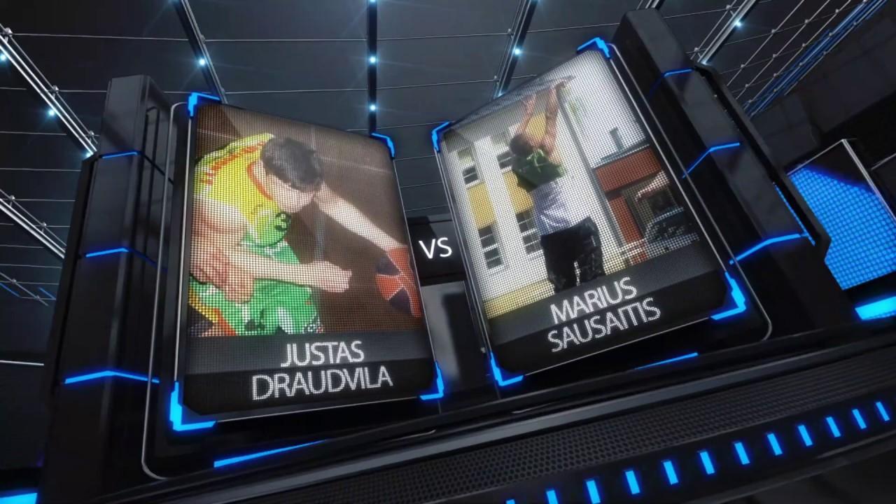 TOPsport Ghetto King 1x1: Justas Draudvila vs Marius Sausaitis