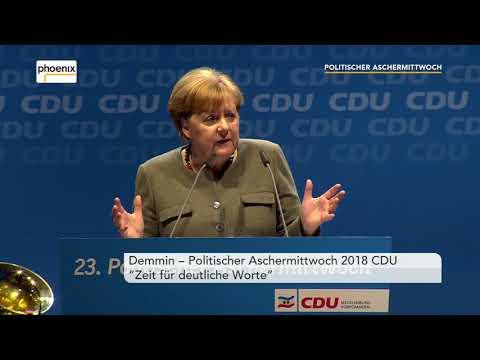 Rede Angela Merkel beim Politischen Aschermittwoch der CDU  am 14.02.2018