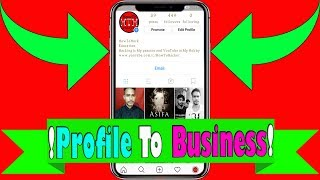 Convert Your Personal Instagram Profile to a Business Profile