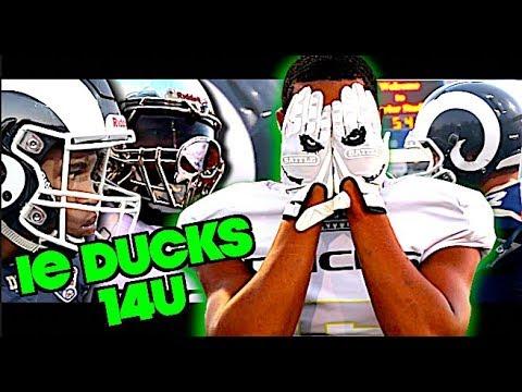 🔥🔥 IE Ducks vs LA Valley Rams 14U - Action Packed UTR Youth Football Highlight Mix 2018