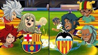[Full HD 1080P] Inazuma Eleven La Liga ~ Barcelona vs Valencia ※Pokemon Anchor※