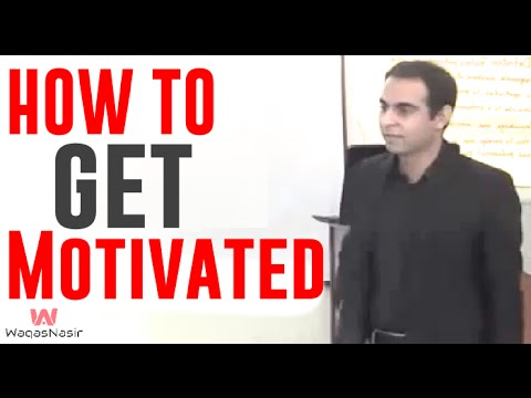 What Is Motivation & How to Get Motivated-By Qasim Ali Shah | In Urdu