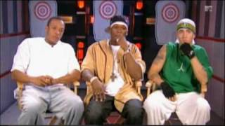 Eminem 50 Cent Dr. Dre Interview 2002 Video