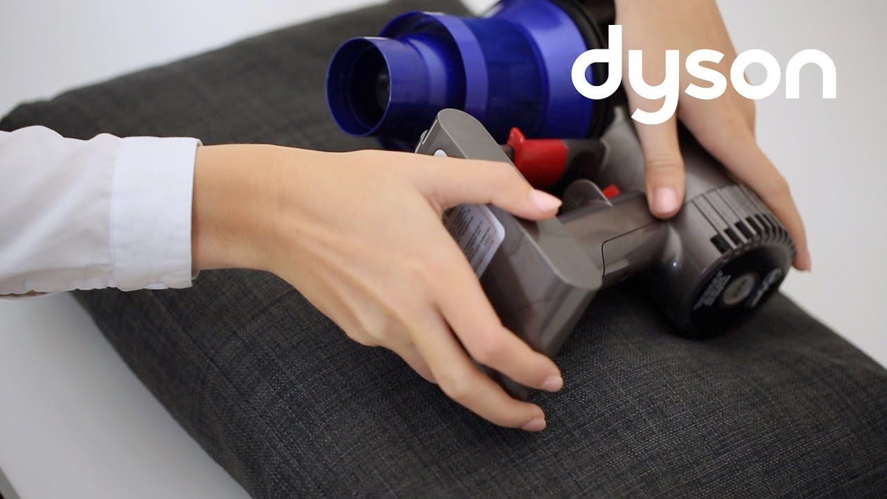 Dyson V6 cord-free vacuums - Replacing the battery (US)